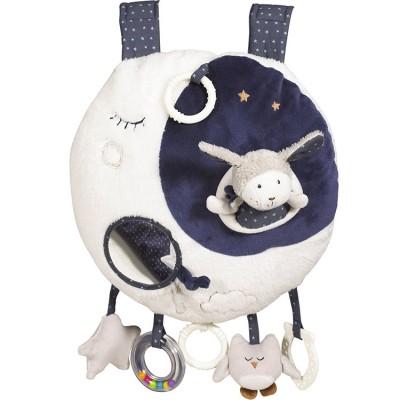 Jouet d'éveil musical et lumineux Lune Merlin  par Sauthon