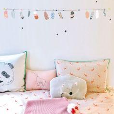 Stickers guirlande pour chambre bébé | Berceau magique