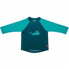 Tee-shirt de protection UV Splash & Fun baleine bleue (12 mois)