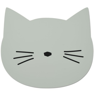 Set de table Aura chat vert mint