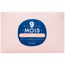 Album photo 9 mois mille aventures (64 pages)  par Mr. Wonderful