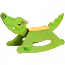 Alligator à bascule  par Plan Toys