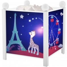 Lanterne magique Sophie la girafe blanche