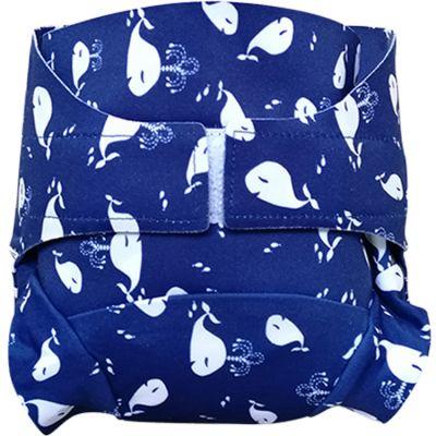 Culotte couche lavable T.MAC Chant des baleines (Taille S)