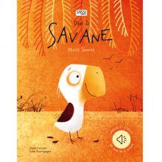 Livre sonore Dans la savane