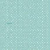 Papier peint Pois Les jolis pas beaux bleu (10 m) - Moulin Roty