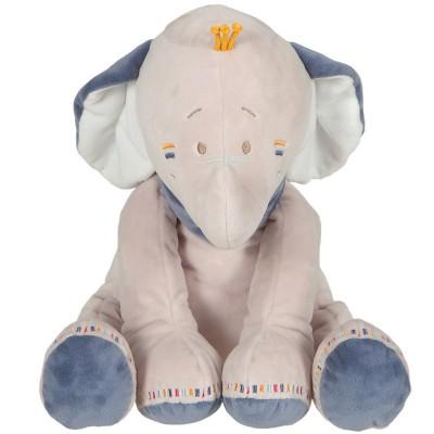 Peluche Bao l'éléphant (35 cm) Noukie's