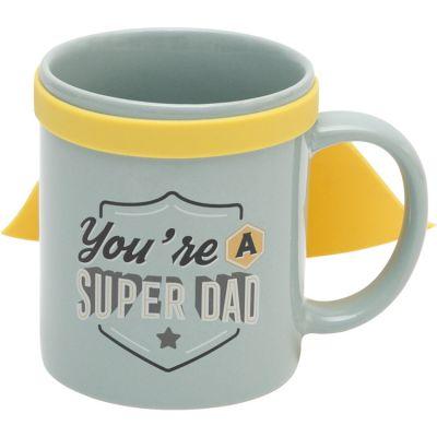 Mug avec cape You're a super dad  par Mr. Wonderful