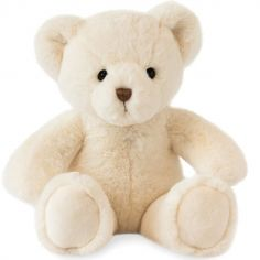 Peluche ours Titours champagne (34 cm)