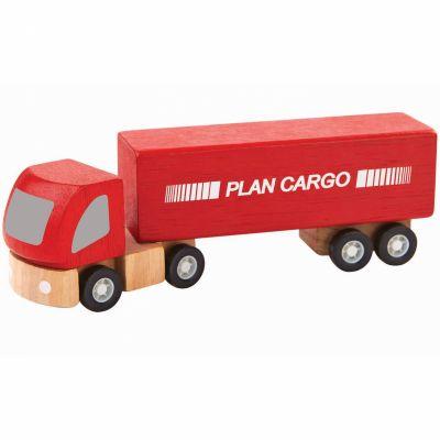 Camion semi-remorque (14 cm)  par Plan Toys