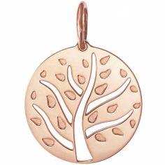 Médaille de naissance Arthur personnalisable 18 mm (or rose 750°)