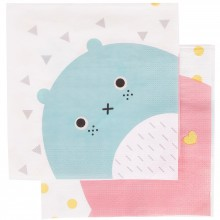Serviettes en papier Noodoll (20 pièces)  par My Little Day