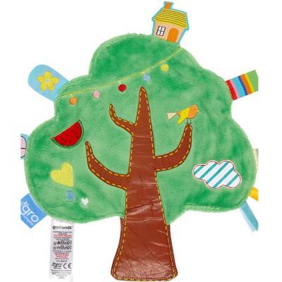 Doudou plat Friends arbre The Gro Company