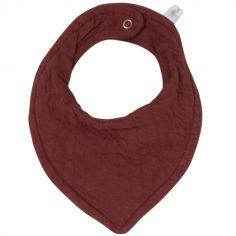 Bavoir bandana Pure indian red