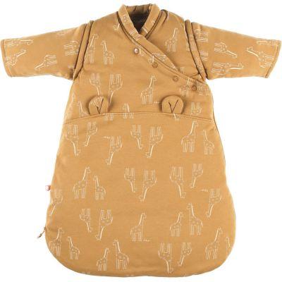 Gigoteuse en jersey bio chaude Mix & Match ocre TOG 1-2 (50 cm)  par Noukie's