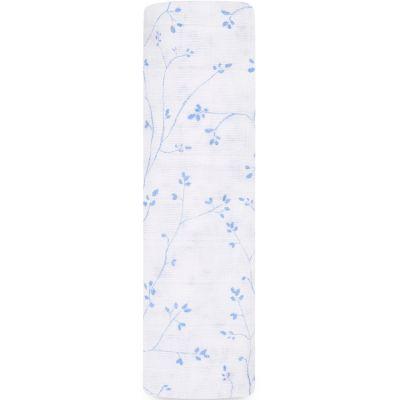 Maxi lange en coton Ma Fleur Vineyard (120 x 120 cm)  par aden + anais