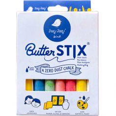 Pochette de 12 craies de couleur Butterstix + porte-craie