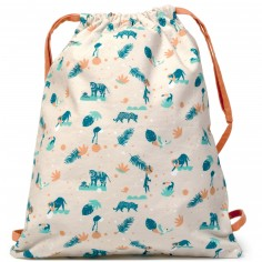 Sac à ficelles Wild jungle
