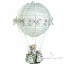 Lampe montgolfière ours beige  par Pasito a pasito