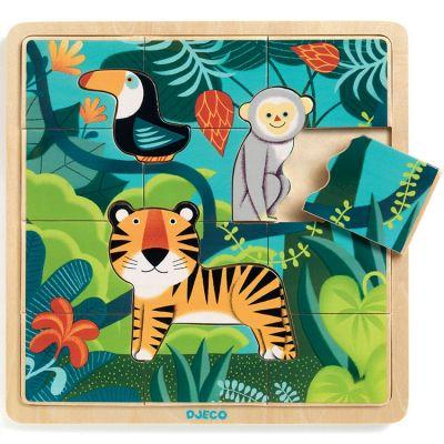 Puzzle Jungle (15 pièces)  par Djeco