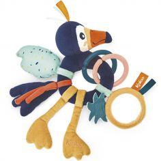 Hochet multi-activités à suspendre Alban le toucan