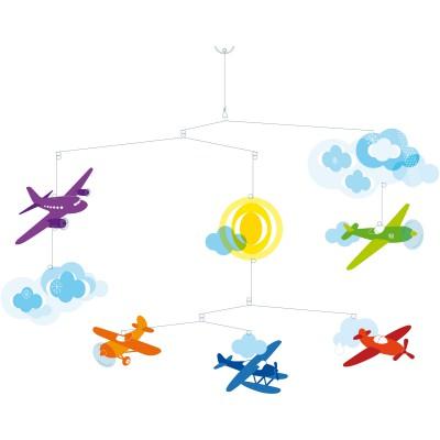 Mobile avions En vol Djeco