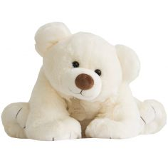 Peluche Gros ours écru (90 cm)