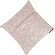 Coussin Adventure pink (40 x 40 cm)  par Little Dutch