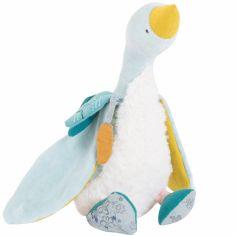 Peluche petite oie bleue Plumette Le voyage d'Olga (23 cm)
