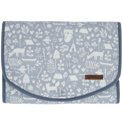 Tapis à langer Adventure blue (70 x 36 cm)  par Little Dutch