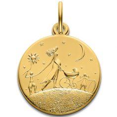 Médaille Ronde de la vie 18 mm (or jaune 750°)