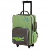 Valise trolley Croco vert - Lässig