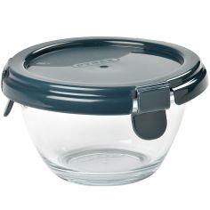 Pot de conservation en verre Pyrex dark blue (200 ml)