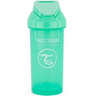 Gourde à paille vert pastel (360 ml)  par Twistshake