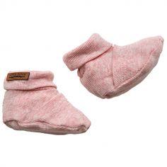 Chaussons bébé pink (0-3 mois)