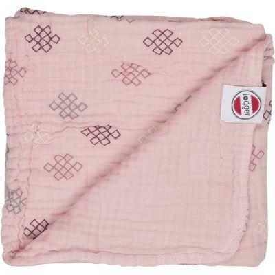 Couverture bébé en coton Dreamer Xandu Sensitive rose (120 x 120 cm)  par Lodger