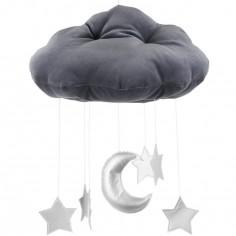 Mobile nuage gris graphite