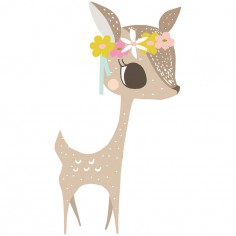 Sticker faon My little fawn by Vicky Carpenter
