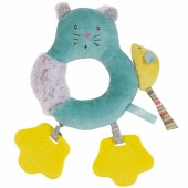 Anneau-hochet chat Les Pachats - Moulin Roty