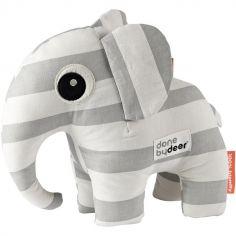 Peluche Elphee l'éléphant gris (26 cm)
