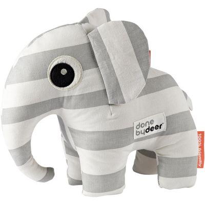 Peluche Elphee l'éléphant gris (26 cm)  par Done by Deer