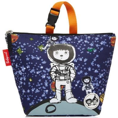 Sac à repas isotherme enfant Spaceman  bleu marine  par Zip & Zoé