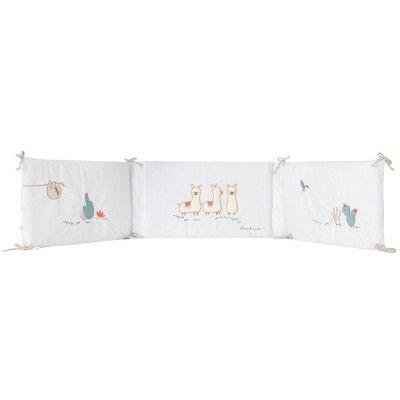 Tour de lit Moris & Sacha (pour lits 60 x 120 et 70 x 140 cm)  par Noukie's