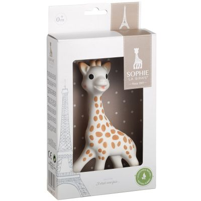 Sophie la girafe en boîte cadeau (18 cm)  par Sophie la girafe
