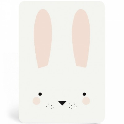 Carte Bunny garçon  par Zü