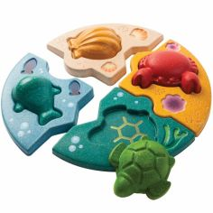 Puzzle à encastrement La vie marine (8 pièces)