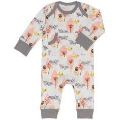 Combinaison pyjama renard (3-6 mois : 60 à 67 cm)
