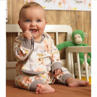 b4f8f8ea8d7fc Combinaison pyjama renard (3-6 mois   60 à 67 cm)   Fresk