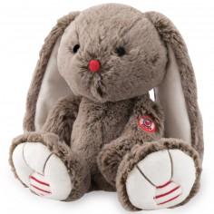 Peluche lapin Rouge Kaloo marron (29 cm)