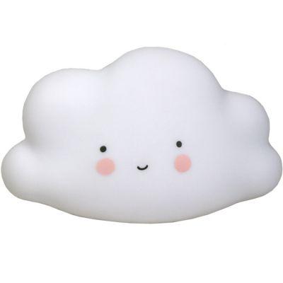 Petite veilleuse nuage blanc (16 cm)